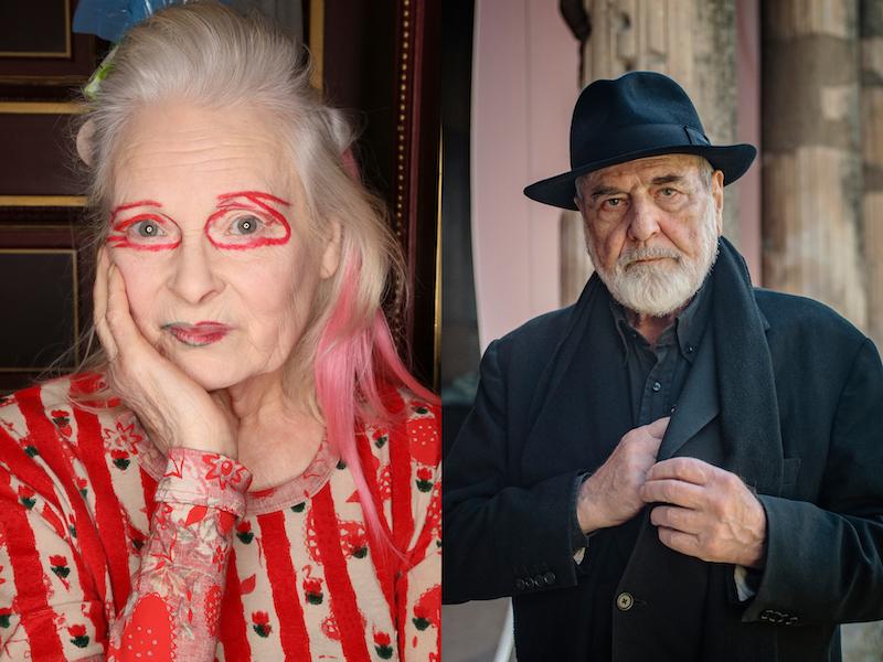Vivienne Westwood e Pistoletto alla Biennale dell'Arte